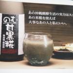 沖縄あまざけ「のむ甘黒糀」を飲んでみた感想