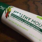 iHerbのオーガニック無添加歯周病用歯みがき、よいです!